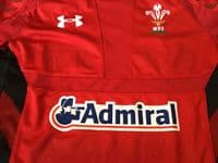 Classic Rugby Shirts : 2013 Wales Vintage Old Jersey